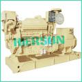 Accionado por los generadores diesel marinos de Cummins 250KW / 313KVA