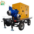 Diesel Engine Self Priming Centrifugal Trailer Mounted Water Pump