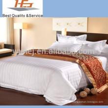 Hopsital Motel hotel cetim lençol lençol liso folhas por atacado