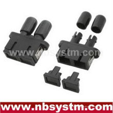 SC / PC - ST / PC HYBIRD PLASTICS Singlemode Duplex Adapter