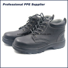 Genuine Leather Rubber Outsole Cheap Construction Security Ss-013