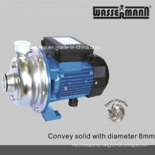 High Efficiency Stainless Steel Centrifugal Pumps with Open Impeller