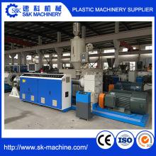 Ligne de production en plastique PE / PP / PPR / PE-Rt Pipe Extrusion Pipe