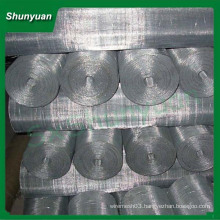 Hot square screening galvanized stainless steel crimped wire mesh
