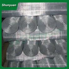 Hot quadrado de triagem de arame galvanizado aço inoxidável crimped mesh