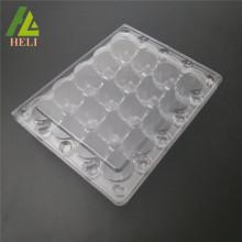 Emballage en plastique de plateau d'oeufs de caille de thermoformage