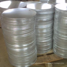 Cercle en aluminium 1050-O de feuille de prix bas pour Spinning