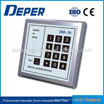 Painel de controle de acesso para leitura automática de porta / leitor de cartão / senha