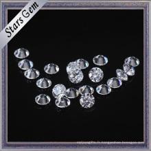 De Bonne Qualité Star Cut 3.0mm zircon cubique pour les anneaux