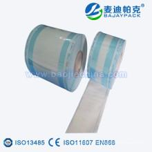 rouleau de papier de plastique de gousset de stérilisation pour dentaire