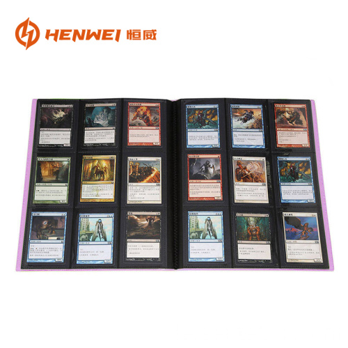 9 Taschenordner PP Material Game Card BOOK
