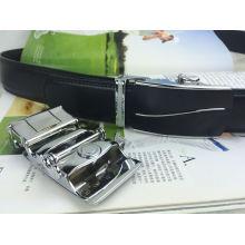 Cintos de couro preto para homens (HPX-160705)