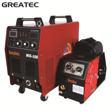 Máquina de solda do inversor CO2 com alimentador de fio para uso industrial-MIG500