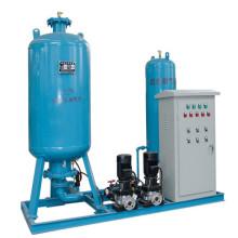 Depósito de expansión de la estación de relleno de agua