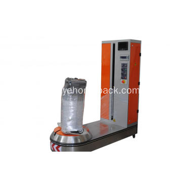 Pre-stretch Airport Luggage Wrapping Machine With CE