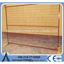 Easy to Install Mobile Construction Galvanized Temporary Fence