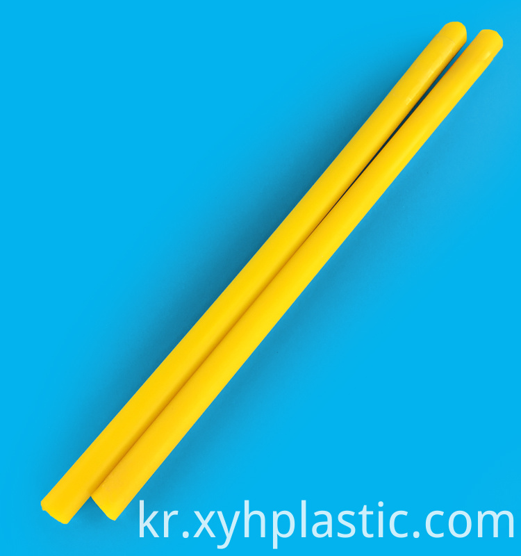 Light Yellow PU Rod