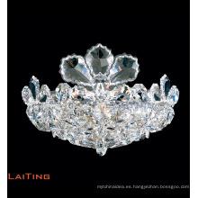 Pequeña lámpara de araña de cristal colgante decorativa moderna hogar LT-62054
