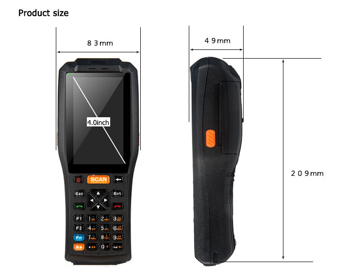 android uhf scanner pda