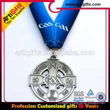 Promotion award customized medal lanyard for sport game