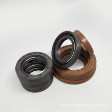 NBR FKM Rubber Corrugated Thread 3 Lips Tg4/Tc4 Oil Seal