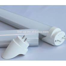 UL TUV CE T8 LED conduziu a iluminação com tampa do PC Limpar, Semi-claro, leite