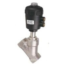 2/2 way Piston Operated Angle seat valves for neutral and aggressive liquids and gases KLJZF Series