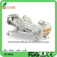 Good five functions electric hospital bed prices/ICU bed made in china