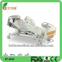 Boas cinco funções de preços de cama de hospital elétrico / cama de UTI feita na China