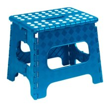 Performance Inc Educational Products  Folding Stool Blue