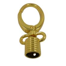 La fábrica de Dongguan empaqueta el tapón de gancho rápido más nuevo del metal del oro del diseño