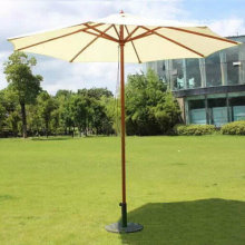 Outdoor Wooden Frame Beach Umbrella Garden Umbrella