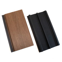 Co-Extrusion PE Caped Waterproof UV-Resistant WPC Wall Panel Outdoor House Decoration Exterior Composite Wood Look Cladding Wall