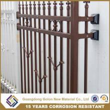 15 Years Rust Resistance Galvanized Steel Fence