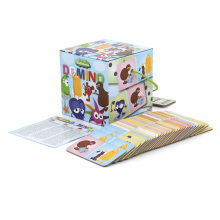 OEM Custom Printing Plastic Paper Party Memory Math Kid Adult Family Card Game