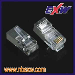 Enchufe RJ45 Cat6 blindado