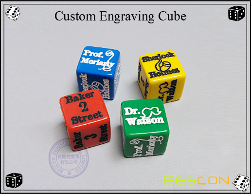 Custom Engraving Cube