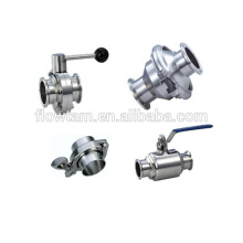 Тройные запорные клапаны из нержавеющей стали
