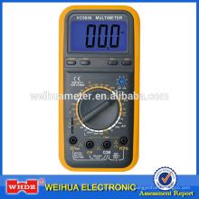 Multímetro digital VC9808 con inductancia de zumbador de temperatura de capacitancia de frecuencia