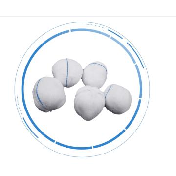 Medizinische saugfähige Gazekugel aus 100% Baumwolle