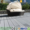 Waterproof wpc composite decking china supplier