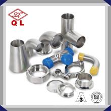 Sanitary Stainless Steel Food Grade Welded Pipe Fitting