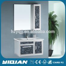 Nova lavatório de cerâmica fornecido para gabinete de banheiro de alumínio