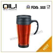 16oz ecológico BPA libre acero inoxidable por mayor de café taza de viaje