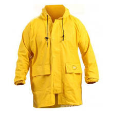 OEM ECO friendly PVC adult rainwear jacket