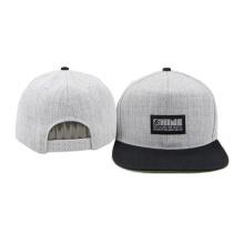 Flat Brim Kunststoff Einstellbare 5 Panel Baseball Caps Hüte