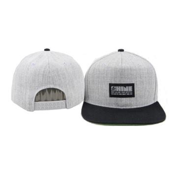 Flat Brim Plastic Adjustable 5 Panel Baseball Caps Hats