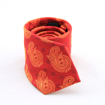 Nueva corbata floral clásica Corbatas únicas de poliéster Hombres corbatas elegantes