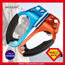 For 8-12 mm Rope Climbing Aluminum Ascender With CE And UIAA