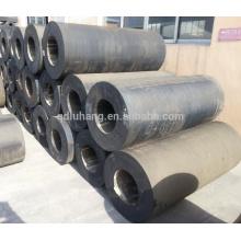 Garde-boue fixe cylindrique en caoutchouc solide